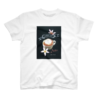 チョークアート アロハカフェ T-shirts