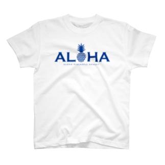 パイナップル 17(heart) T-shirts