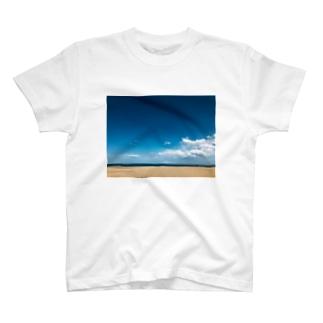アオのソラウミ T-shirts