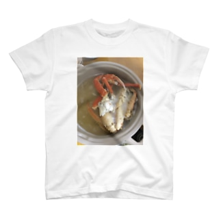 飯テログッズ2〜カニ鍋〜 T-shirts