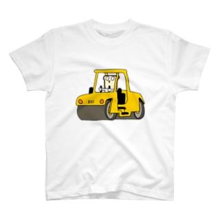 はたらくしょくぱん/ロードローラー T-shirts