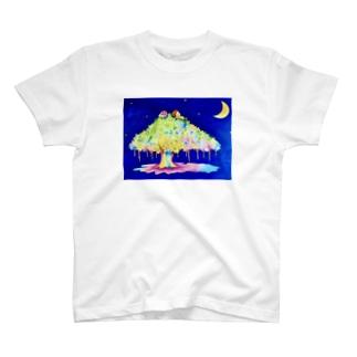幸せを運ぶキジムナー T-shirts
