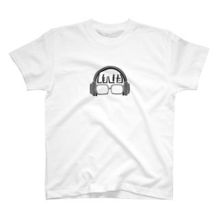 しもきたろんあいこん Gray Scale T-shirts