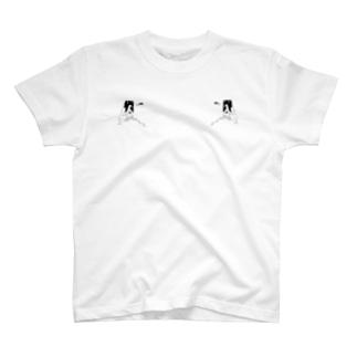 peequod×小骨トモ コラボ T-shirts