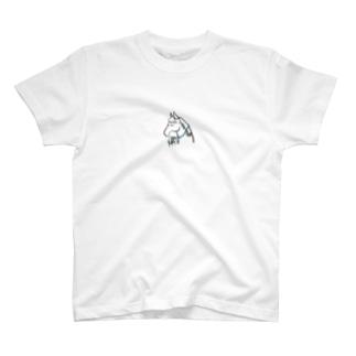お祈りな馬 T-shirts