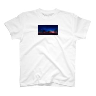 🔵nnym🔵のoutdoor T-shirts