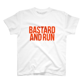 和製英語バスターエンドランTシャツ T-shirts