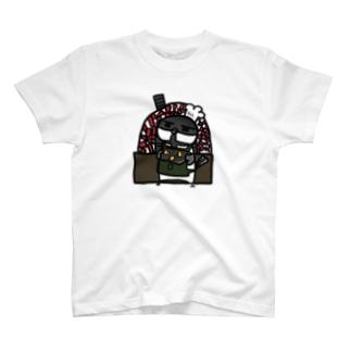 ことり喫茶珈琲牛乳 ベーカリー T-shirts