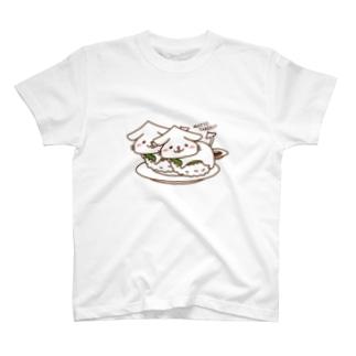 いかねこ「イカ2貫」 T-Shirt