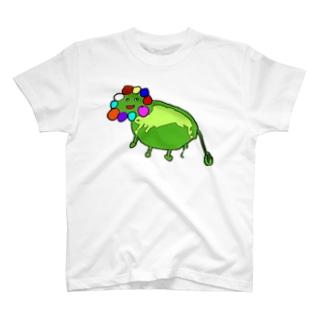 ぽんでらいおんネオ T-shirts