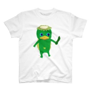 おばけTシャツ<でっかい河童> T-shirts