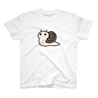 メジロちゃんの相棒 かたつむりちゃん T-shirts