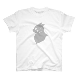 イカミミネコサン(バストアップ) T-shirts