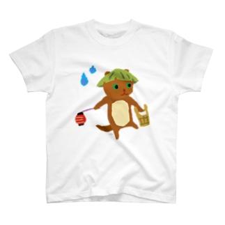 おばけTシャツ<でっかいかわうそ> T-shirts