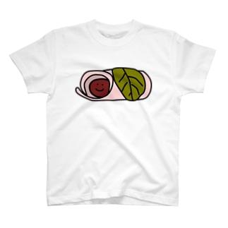 Wa Sweets 桜餅(東) T-shirts