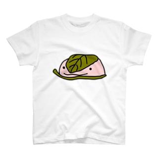 Wa Sweets 桜餅(西) T-shirts