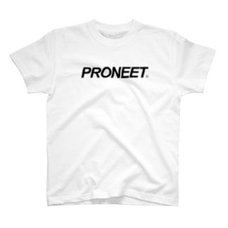 シンプルイズベストPRONEET T-shirts