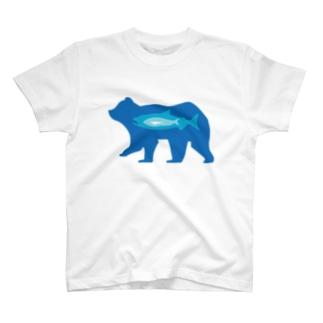 食物連鎖(北極) T-shirts