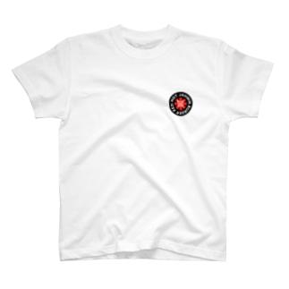 Jahmin' Red Hot Burger Logo T-shirts