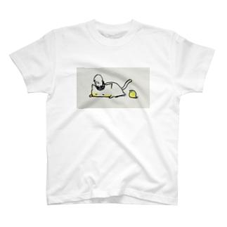 もっちりマーチングねこさん T-shirts
