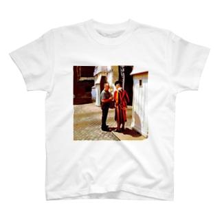CG絵画:バチカンのスイス人衛兵 CG art: Vatican Guard T-shirts