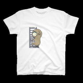 bono shopの【ぽちぼの】ポチ T-shirts