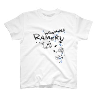 【色変更化限定T2】こじゃれたらめる T-shirts