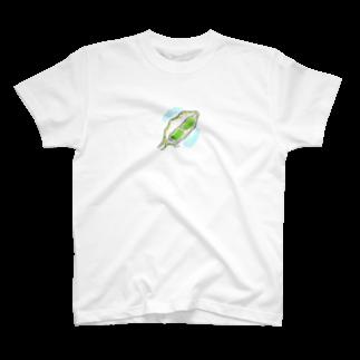 とよだ 時【ゆ-もぁ-と】のソラマメ Tシャツ