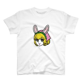 うさガール T-shirts