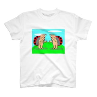 どうみても天道虫の兄弟 T-shirts