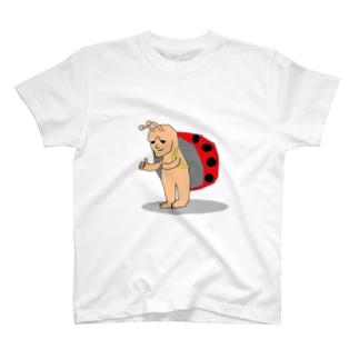どうみても天道虫 ひとり T-shirts