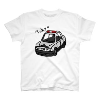 東京のパトカー? T-shirts