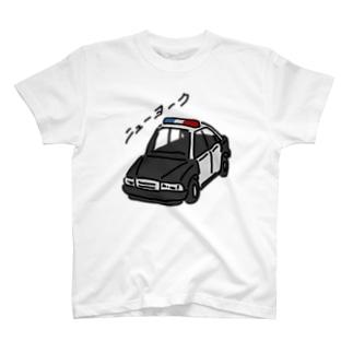 ニューヨークのパトカーではない T-shirts