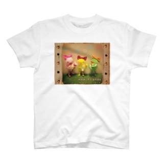ひよこのひーちゃんのママ友 T-shirts