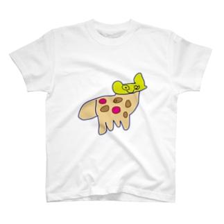 ちびっ子画伯のらくがき「しか」 T-shirts