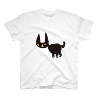 ちびっ子画伯のらくがき「ねこ」 T-shirts