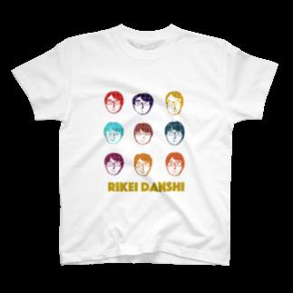 mabilityのRIKEI DANSHI T-shirts