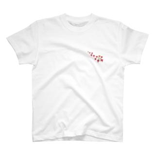 ハートからの祝福 T-shirts