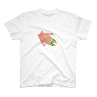 vagの水泳パンツのウォンちゃん Tシャツ