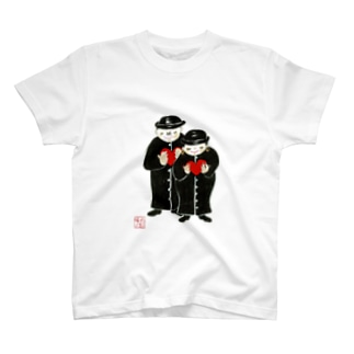 祈る二人 T-shirts