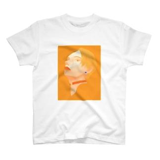 雨とオレンジ T-shirts
