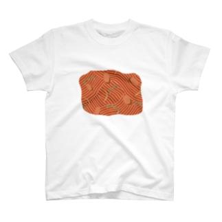 ナポリタンついてもばれなさそう T-shirts