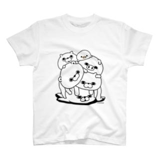ヨッシースタンプの塊(かたまり) T-shirts