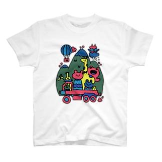 イカツイクルマ元気な色 T-shirts