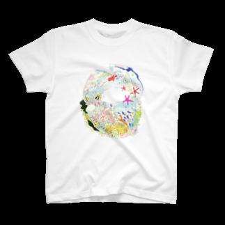 mojappleのうみ T-shirts