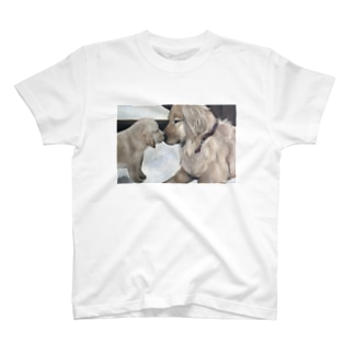 Yuina Trundleの犬の絵 dogs painting  T-shirts