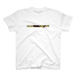 馬おしゃんTシャツ T-shirts