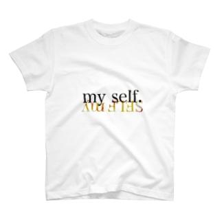 マイ セルフ T-shirts