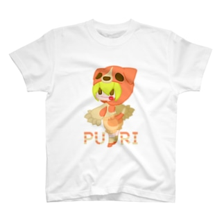 ウサネコのぷり☆コイヌちゃん T-shirts