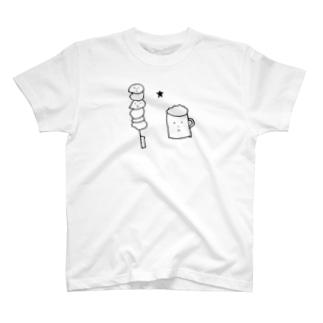 焼き鳥とビール T-shirts